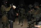 قوات الاحتلال تقوم بحملة اعتقالات في مدن الضفة