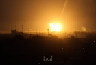 مدفعية الاحتلال تقصف مواقع عسكرية في قطاع غزة