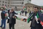 وقفة تضامنية مع الأسرى الفلسطينيين في العاصمة الألمانية برلين