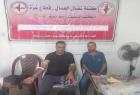 كتلة نضال العمال برفح تنظم حملة تبرع بالدم لصالح المرضى استجابة لطلب مستشفى الأوروبي