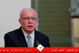 المالكي يطالب المجتمع الدولي بتحمل مسؤوليته تجاه حماية حقوق الاطفال في ظل الاحتلال الاسرائيلي