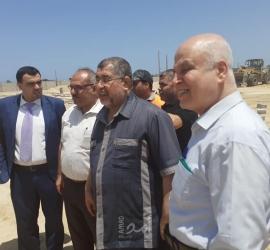 أشغال حماس وجمعية سلام توقعان مذكرة انشاء مشروع عمارات سكنية شمال غزة