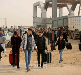 """غزة: كشف """"التنسيقات المصرية"""" للسفر عبر معبر رفح """"الخميس"""""""
