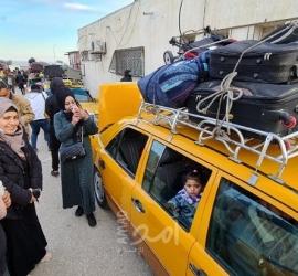 """غزة: كشف """"التنسيقات المصرية"""" للسفر عبر معبر رفح البري الثلاثاء"""
