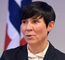 """النرويجية أريكسون: إنهاء الصراع الإسرائيلي الفلسطيني وفق معادلة """"الأرض مقابل السلام"""""""