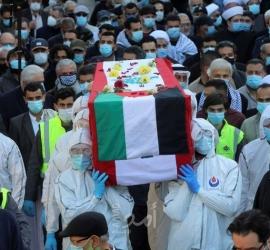 """تشييع جثمان المناضل والكاتب اللبناني """"أنيس النقاش"""" في بيروت- صور"""