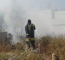 الدفاع المدني: طاقمنا تعاملت مع (119) حادث إطفاء وإنقاذ في الضفة الغربية