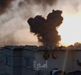 استشهاد 5 مواطنين بقصف لطائرات الاحتلال شمال ووسط قطاع غزة