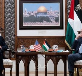 """مصدر لـ """"أمد""""...بلينكن طالب الرئيس عباس بتشكيل حكومة مقبولة دوليا"""
