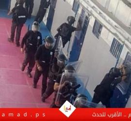 """وحدات القمع تعتدي على الأسرى في سجن """"رامون"""""""