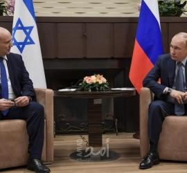 """بوتين وبينيت يلتقيان في سوتشي ويناقشان سبل """"مكافحة الإرهاب"""""""