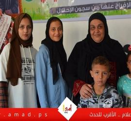 شاهد - ماذا قالت المحررة نسرين أبو كميل  بعد 6 سنوات في سجون الاحتلال