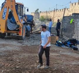 """القدس: سلطات الاحتلال تواصل حفر """"المقبرة اليوسفية"""""""