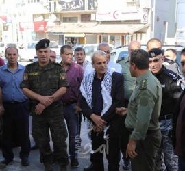 افتتاح جداريتين تجسدان  قضية الأسرى والثوابت الفلسطينية في قلقيلية