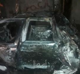 غزة: انفجار أنبوبة غاز في سيارة بشارع يافا- فيديو وصور