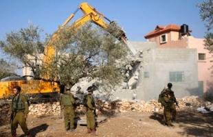 سلطات الاحتلال تصدر قرارات هدم لـ25 منزلًا قيد الإنشاء في أم الفحم