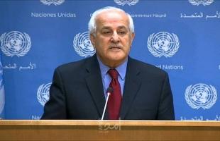 السفير منصور: عقود من التقاعس عن اتخاذ تدابير عملية ألحقت ضررا خطيرا بسلطة القانون الدولي