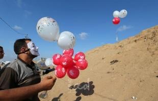 """سقوط بالون مفخخ بين منزلين اسرائيليين واندلاع حريق في كيبوتس """"شعار هنيغف"""""""