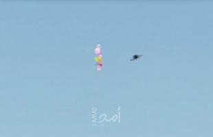إطلاق دفعة بالونات حارقة من غزة تجاه البلدات الإسرائيلية