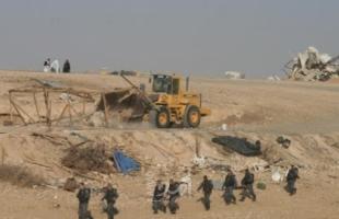 الناصرة: سلطات الاحتلال تهدم قرية العراقيب للمرة 177