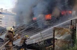 """اندلاع حريق في """"سديروت"""" بفعل بالونات حارقة أطلقت من غزة"""