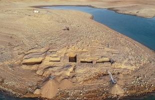 اكتشاف قصر خرافي فى العراق قرب نهر الدجلة عمره 3400 عام