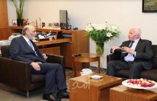 تفاصيل لقاء عزام الأحمد مع سمير جعجع في بيروت