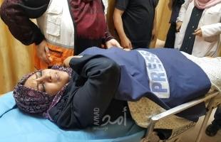 """وصول مراسلة """"أمد للإعلام"""" الصحفية صافيناز اللوح إلى قطاع غزة"""