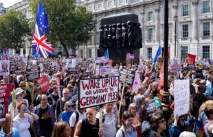 نواب بريطانيون يطالبون إنجلترا بالسماح باحتجاجات أثناء الإغلاق