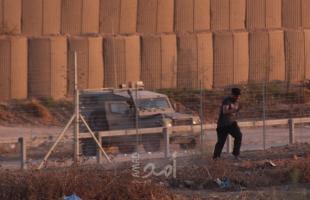 اطلاق النار من قبل جيش الاحتلال تجاه شبان اجتازوا السياج الفاصل شرق خانيونس