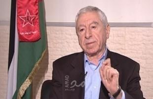 حواتمة: حقوقنا الفلسطينية المشروعة هي طريق الخلاص الوطن