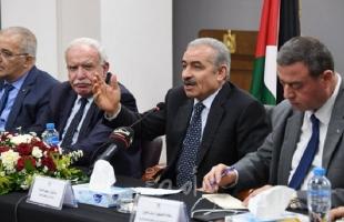 أشتية: المعاناة التي تعيشها غزة غير مسبوقة وتسهيل حياة أبناء شعبنا على رأس أولوياتنا