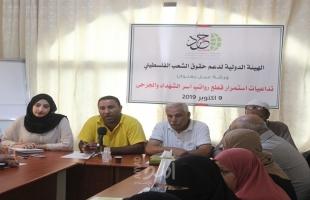 غزة: سياسيون يحذرون من خطورة استمرار سياسة قطع رواتب أسر الشهداء والجرحى