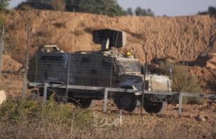 """قوات الاحتلال تطلق النار تجاه """"نقطة عسكرية"""" شرق خانيونس"""