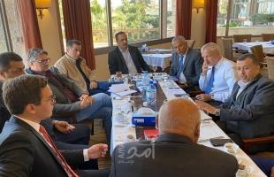 الحايك يبحث مع الاتحاد الأوروبي دعم القطاع الخاص والمنشآت الصناعية في غزة