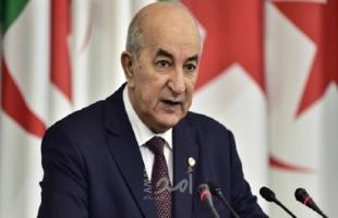 الرئيس الجزائري يؤكد صعوبة مواجهة الحرائق ويطلب المساعدة