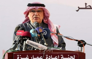 العمادي: وجودي في غزة لمنع حرب ..وتل أبيب وافقت على إدخال 7 آلاف عامل غزي