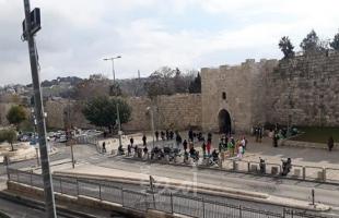 بالصور.. قوات الاحتلال تغلق محيط باب الساهرة بالمسجد الأقصى