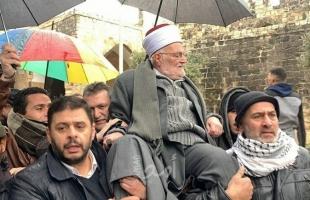 """""""الأوقاف الأردنية"""": نقوم بجهود دبلوماسية لفك الحظر على دخول الشيخ عكرمة صبري """"الأقصى"""""""