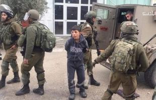 قوات الاحتلال تعتقل طفل من جنين قرب معسكر سالم