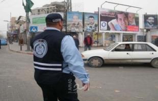 مرور غزة: تسجيل 5 حوادث سير  خلال الـ24 ساعة الماضية