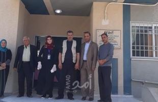 ممثلة المنظمة الألمانية الدولية للتنمية  تزور  جمعية أصدقاء القلوب الرحيمة بغزة