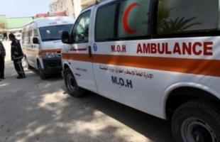 إصابة طفلة بجراج خطيرة إثر تعرضها لحادث سير شمال القطاع