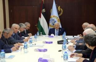 تنفيذية المنظمة تجتمع الخميس برئاسة عباس