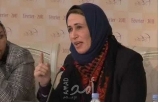 """أبو بكر توضح لـ""""امد"""" حقيقة تصريحات منسوبة لها عبر مواقع حمساوية"""