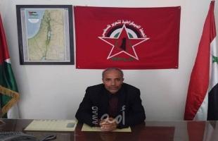 """قيادي في """"الديمقراطية"""" يثمن قرار الحكومة السورية بمساواة الفلسطيني بالسو"""