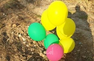 إطلاق دفعة بالونات مفخخة من غزة تجاه البلدات الإسرائيلية