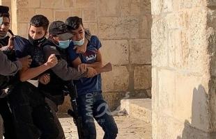قوات الاحتلال تعتقل شقيقين قاصرين من بلدة حزما في القدس