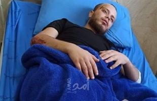 """إصابة الشاب """"مصطفى أبو سياج"""" دهساً من جيب لجيش الاحتلال في طوباس"""