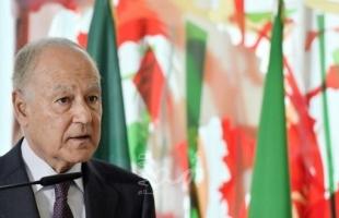 أبو الغيط يبحث مع وزير الخارجية التونسي سبل تعزيز العمل العربي المشترك